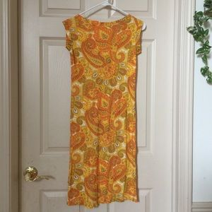 Beautiful Psychedelic Vintage 60s Dress